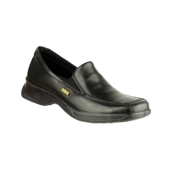 Cotswold Hazleton Slip On Ladies Shoes Black